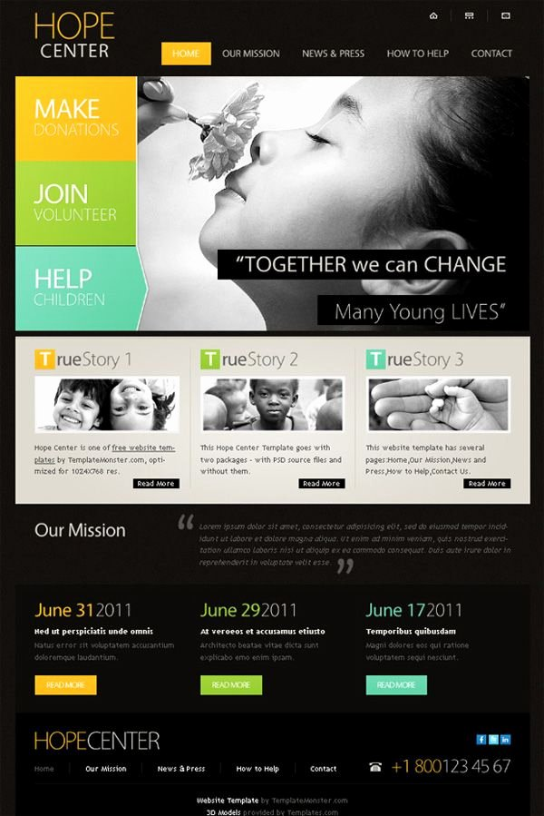 15 Best Free Charity Templates
