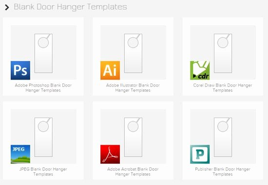 15 Best Free Door Hanger Templates & Design Ideas