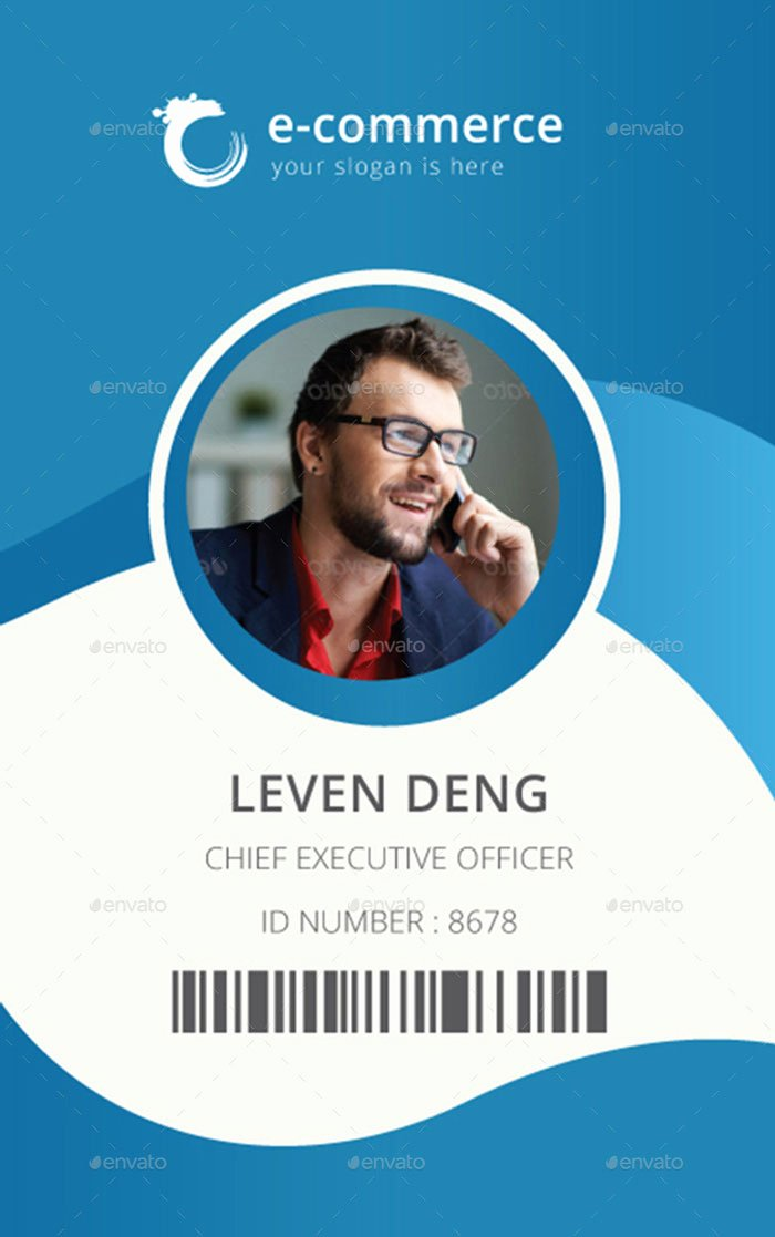 15 Best Id Card Template Design In Psd and Ai Designyep