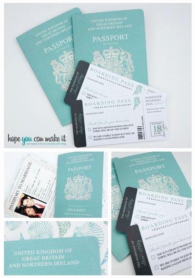 15 Best Ideas About Passport Invitations On Pinterest