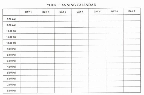 15 Calendar Grid Template Blank Calendar Grid