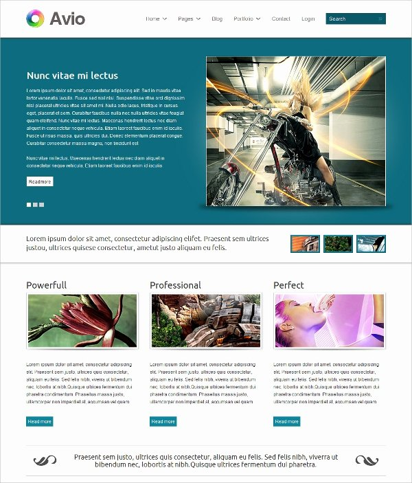 15 Creative Flash Website themes & Templates