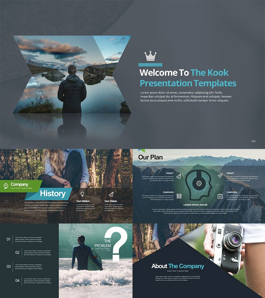15 Creative Powerpoint Templates for Presenting Your