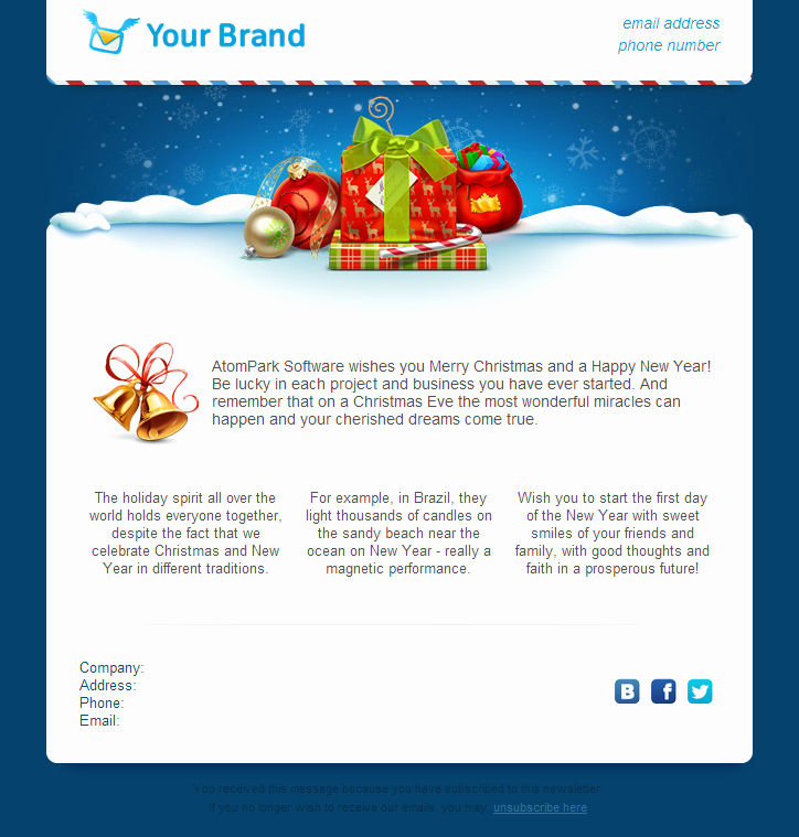 15 Customize Free Holiday Templates Free