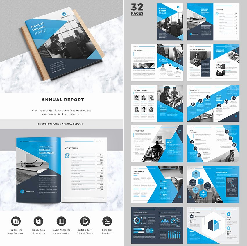 awesome annual report indesign templates cms
