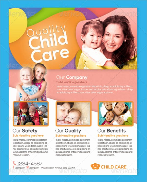 15 Day Care Flyers