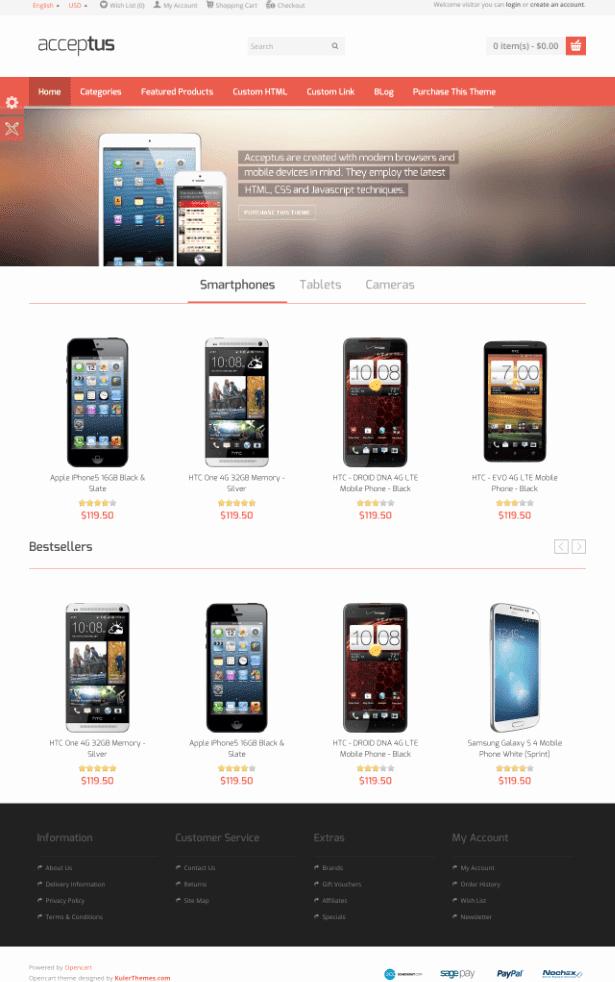 15 Free E Merce HTML5 Css3 Website Templates