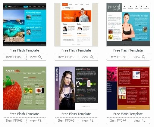 15 Free Flash Templates Download Website Ntt