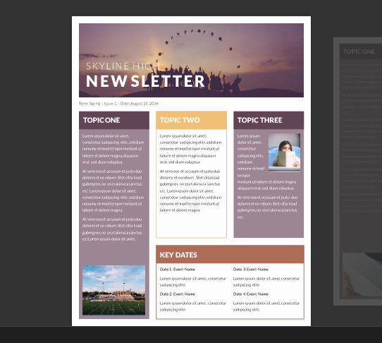 15 Free Microsoft Word Newsletter Templates for Teachers