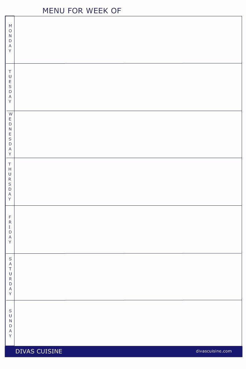 15 Free Printable Menu Templates Free Printable