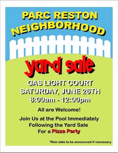 15 Free Yard Sale Flyers Great Help Demplates