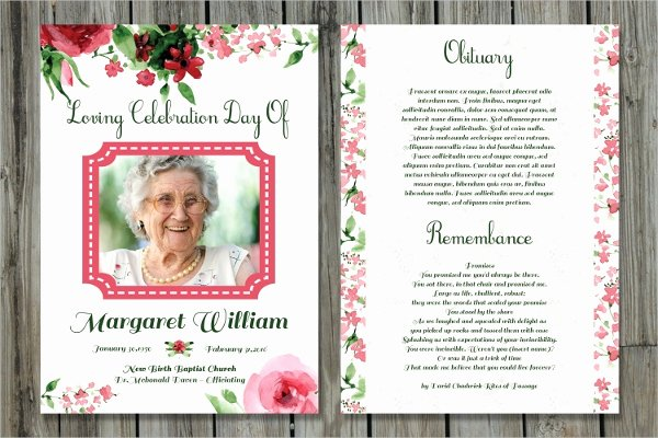 15 Funeral Card Templates Free Psd Ai Eps format