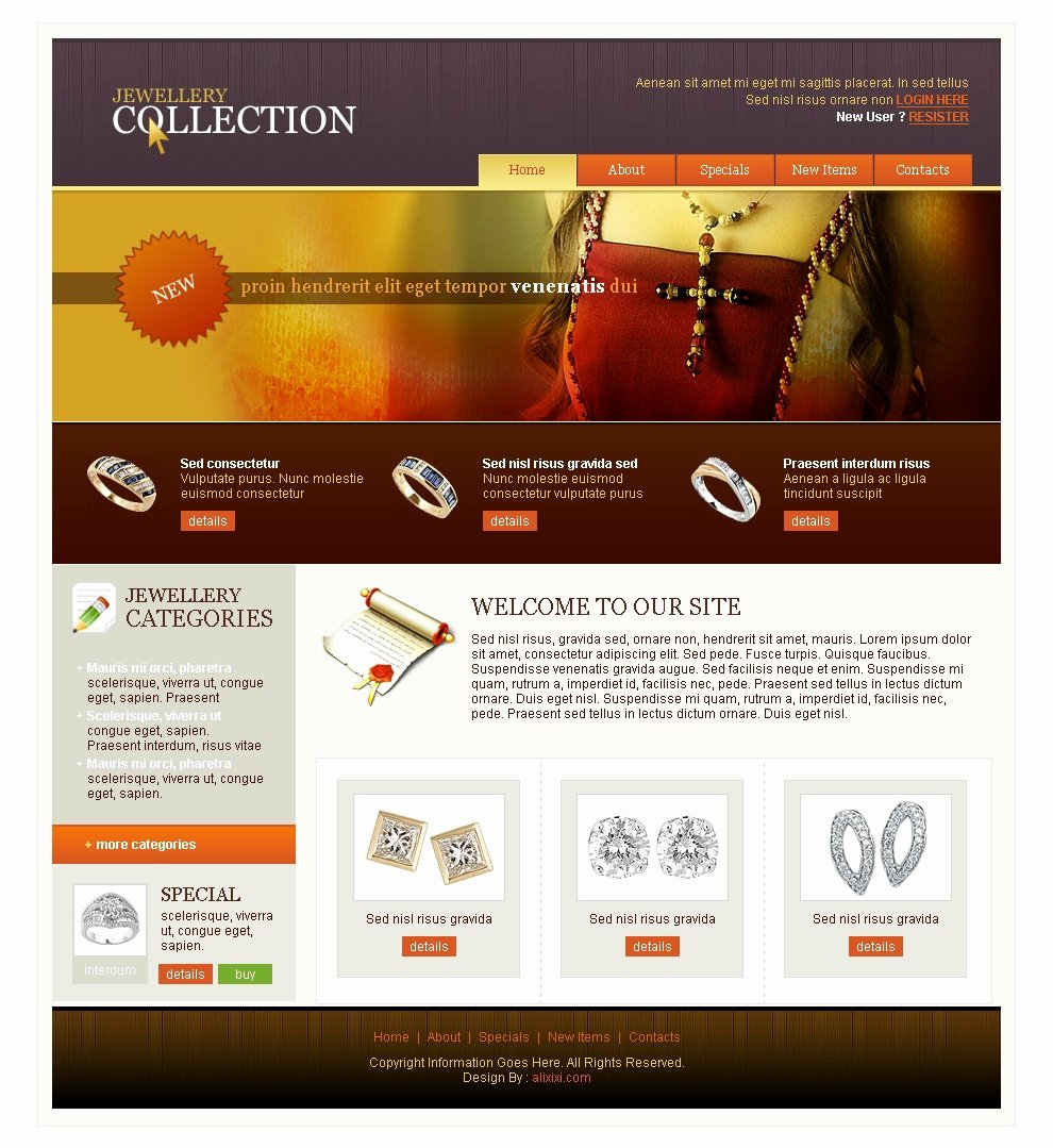 15 HTML Web Templates Free Download HTML Website