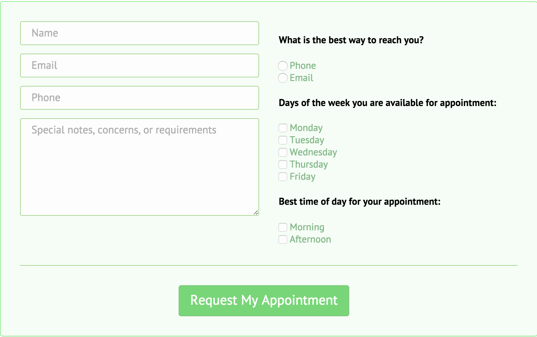 15 HTML5 Contact form with Css3 Templates Built with