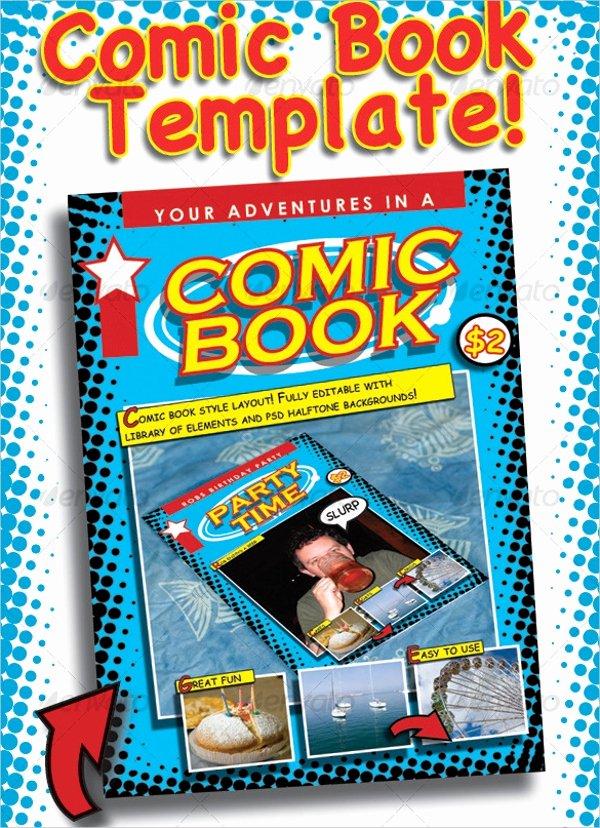 15 Ic Book Templates Psd Vector Eps