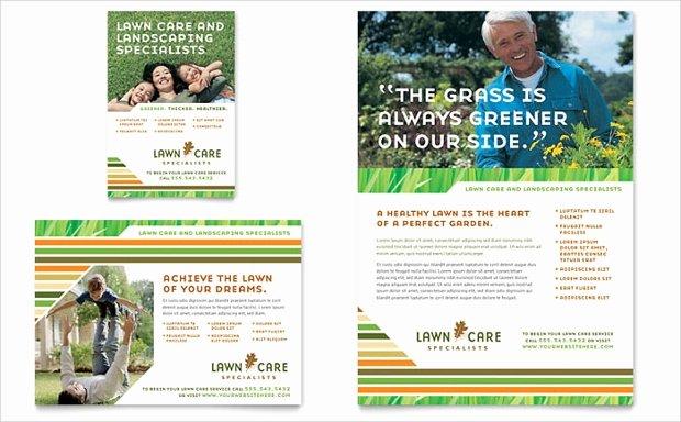 15 Lawn Care Flyer Templates Printable Psd Ai Vector