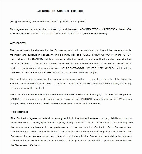 15 Legal Contract Templates Free Word Pdf Documents