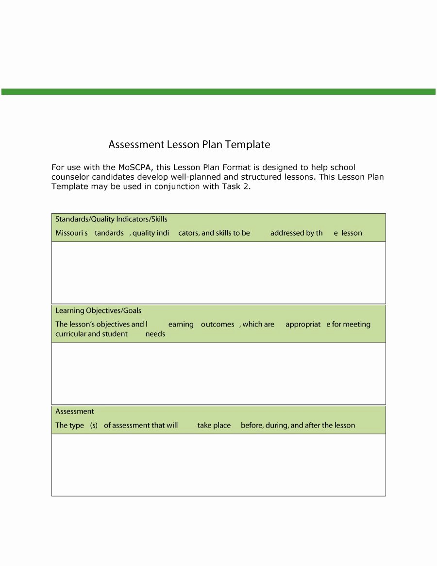 15 Lesson Plan Templates
