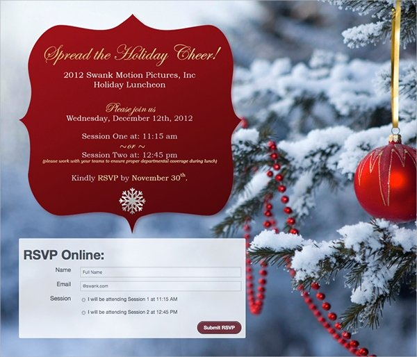 15 Lunch Invitations