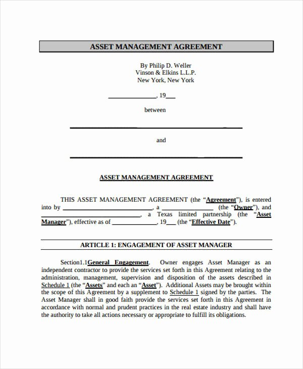 15 Management Agreement Templates Word Pdf