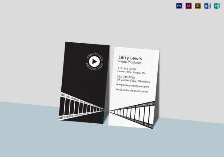 15 Media Business Card Templates Editable Psd Ai