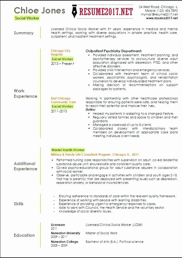15 Older Worker Resume