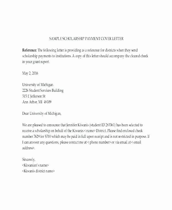 15 Payment Settlement Letter format