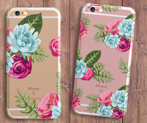 15 Phone Case Templates Psd Eps