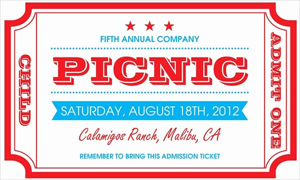 15 Picnic Invitations