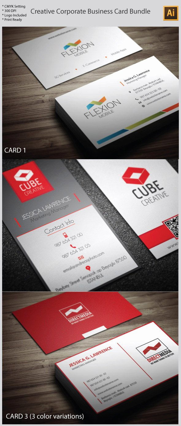 15 premium business card templates in photoshop illustrator indesign formats cms