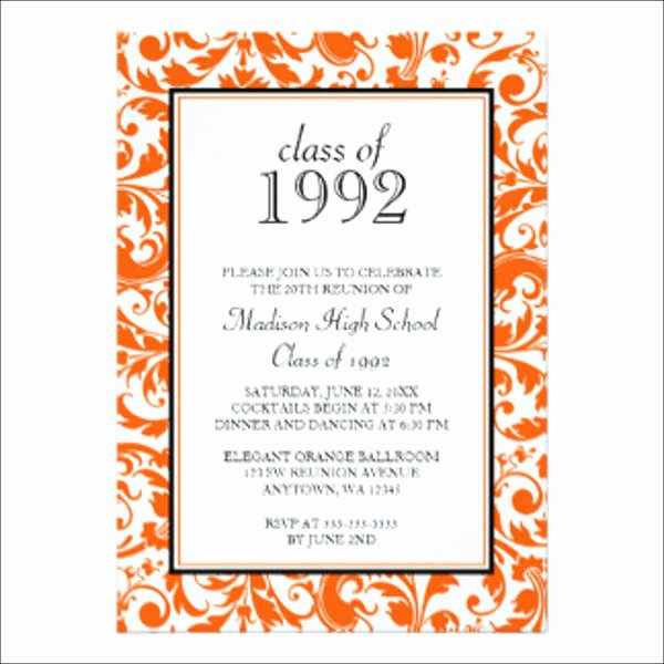 15 Reunion Invitation Templates Psd Ai