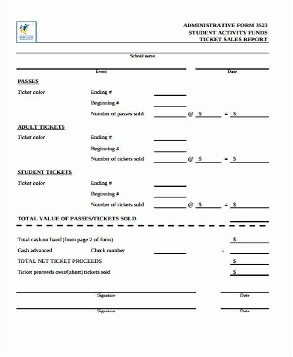 15 Sales Report form Templates