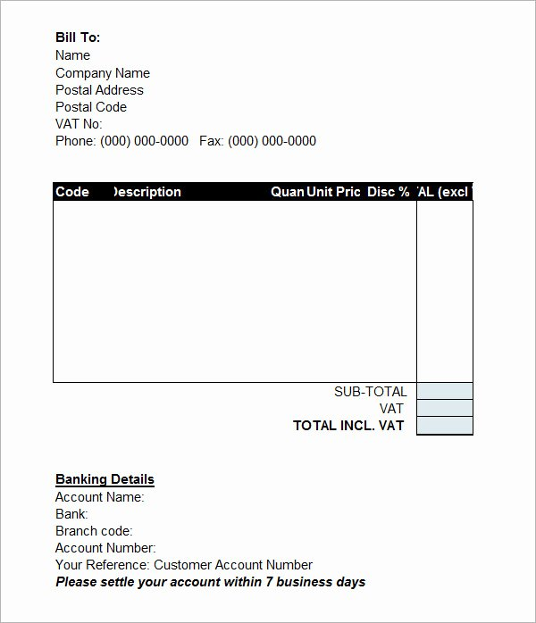 15 Sample Proforma Invoice Template for Download