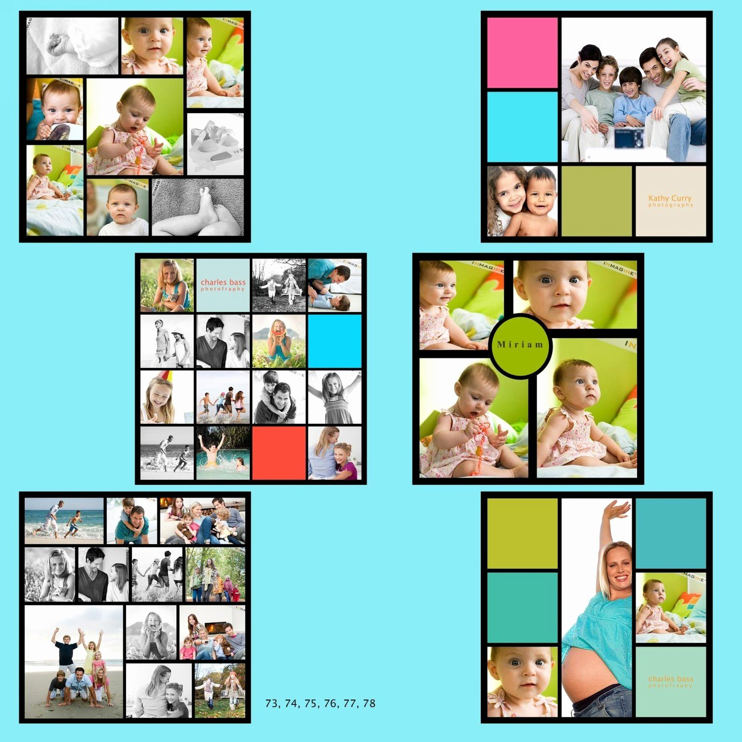 15 Simple Collage Template Psd Collage Templates