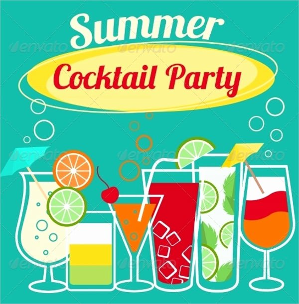 15 Summer Party Invitations Free Editable Psd Ai