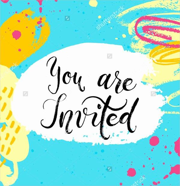 15 Summer Party Invitations Free Editable Psd Ai