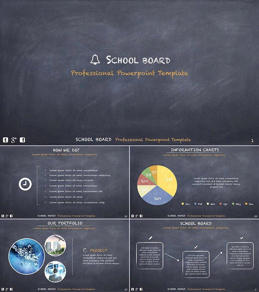 15 Template Powerpoint Pendidikan Untuk Presentasi