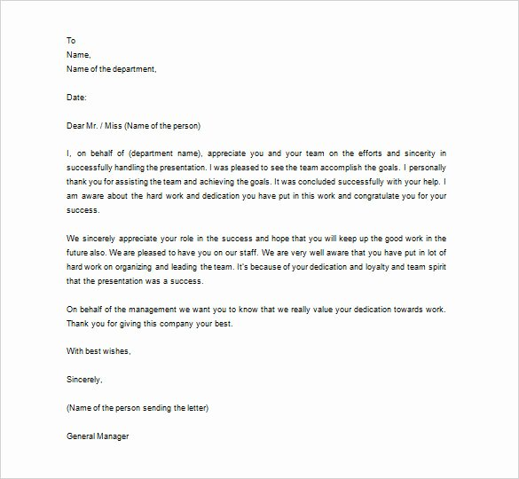 15 Thank You Letter to Employee Pdf Doc