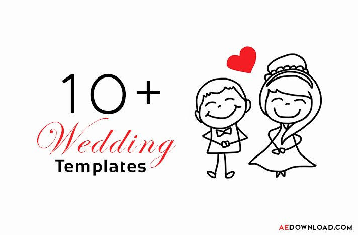 15 top Wedding after Effects Templates Free