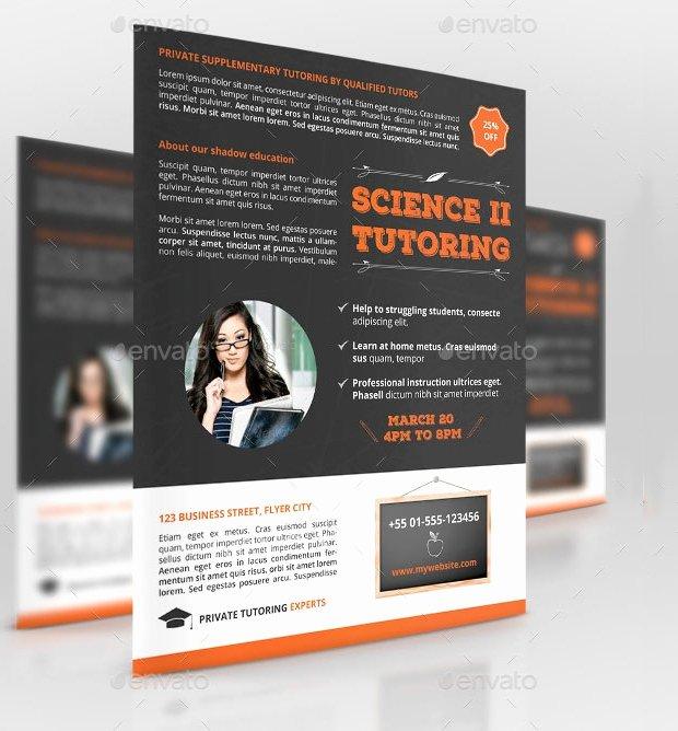 15 Tutoring Flyer Templates Printable Psd Ai Vector