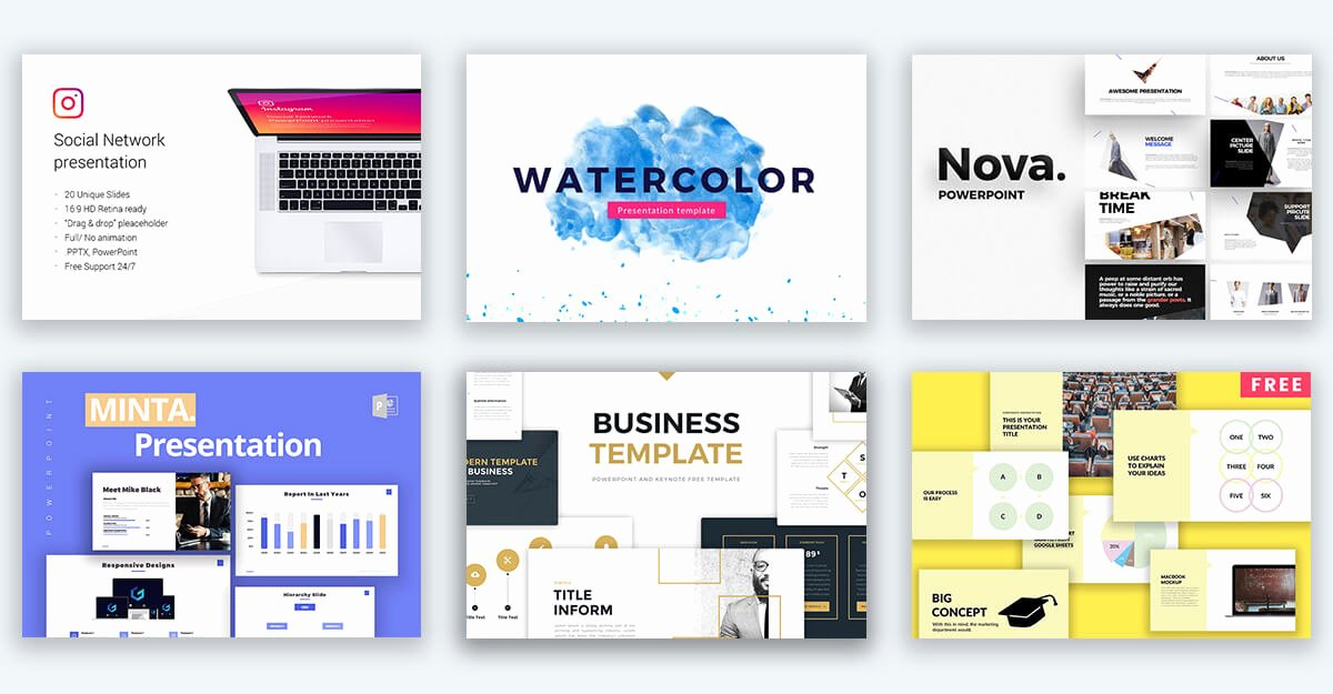 150 Free Powerpoint Templates ‒ Best Ppt Presentation themes