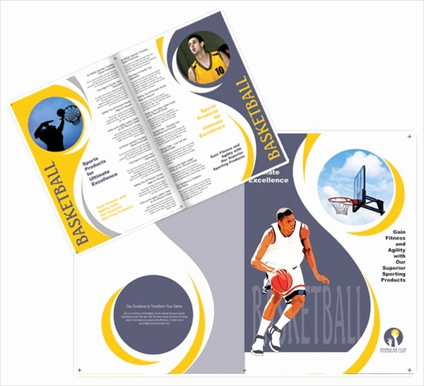 16 Basketball Camp Brochures Free Psd Eps Ai format