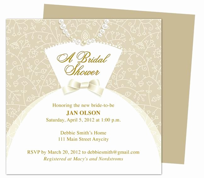 16 Best Images About Wedding Bridal Shower Invitation