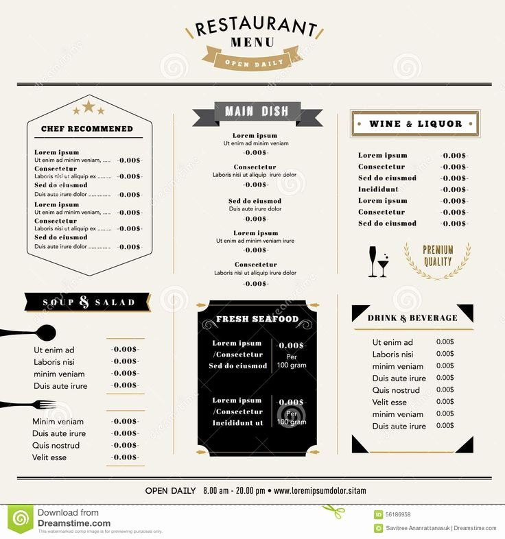 16 Best Menu Board Design Images On Pinterest
