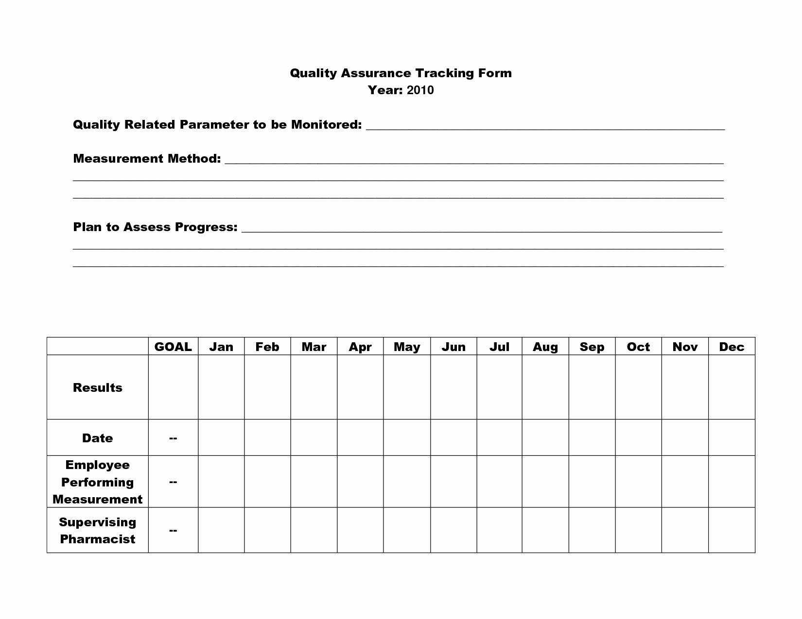 post quality assurance worksheet
