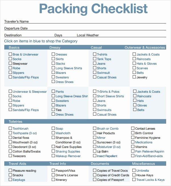 16 Best Travel Checklist Images On Pinterest