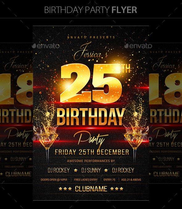 16 Birthday Templates Free Psd Eps Word Pdf