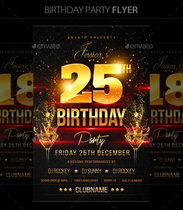 16 Birthday Templates Free Psd Eps Word Pdf