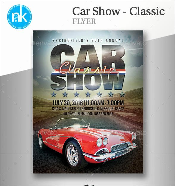 16 Car Show Flyer Templates Free Psd Word Samples