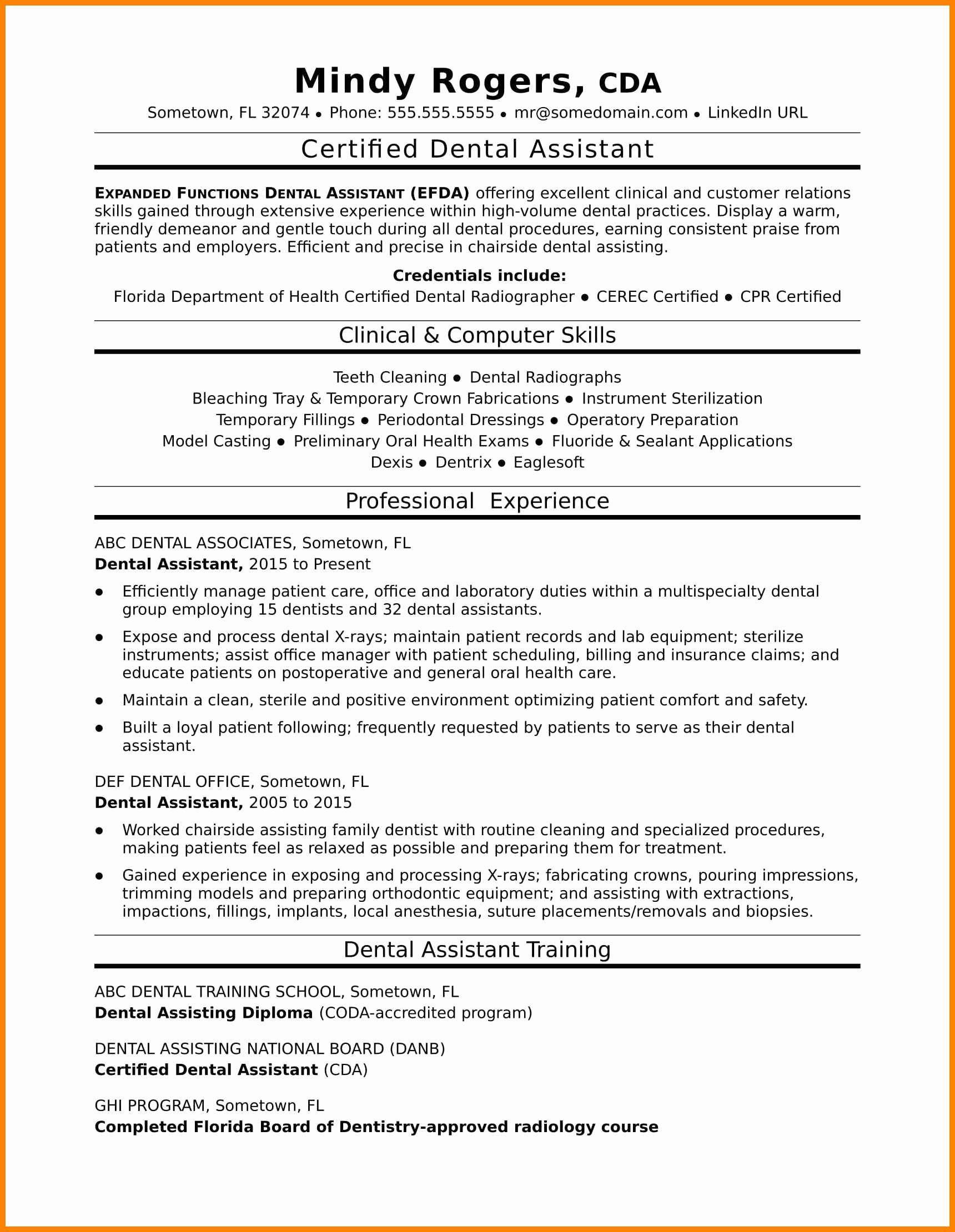16 Dental assistant Skills for Resume
